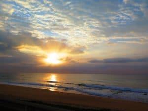 Gorgeous sunrise over Aliwal Shoal - Umkomaas