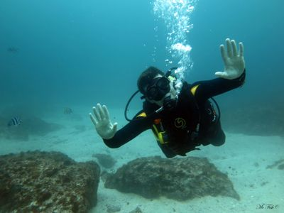Scuba Diving Hand Signals - scubaco diving & travel