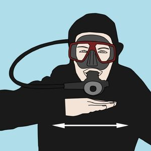 Scuba Diving Hand Signals out of air - scubaco diving & travel